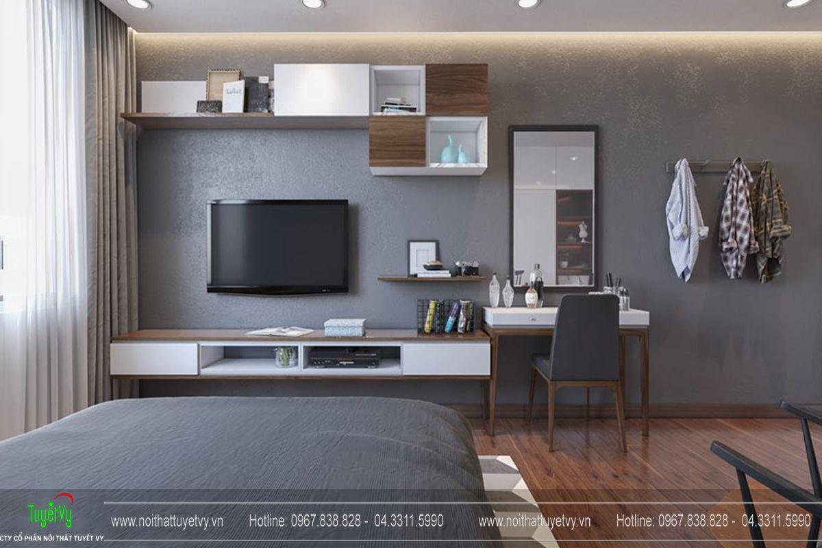 Thiết kế nội thất chung cư Goldmark City Sapphire 1 - 11