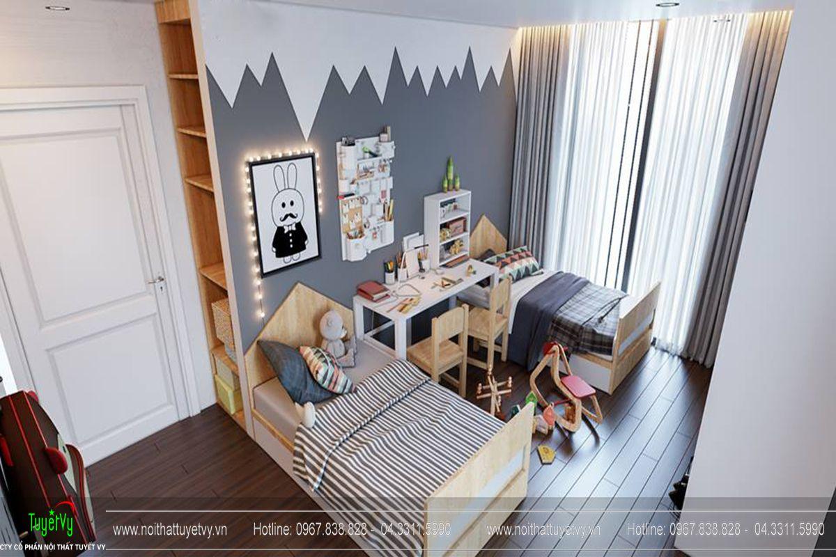 Thiết kế nội thất chung cư Goldmark City Sapphire 1 - 12