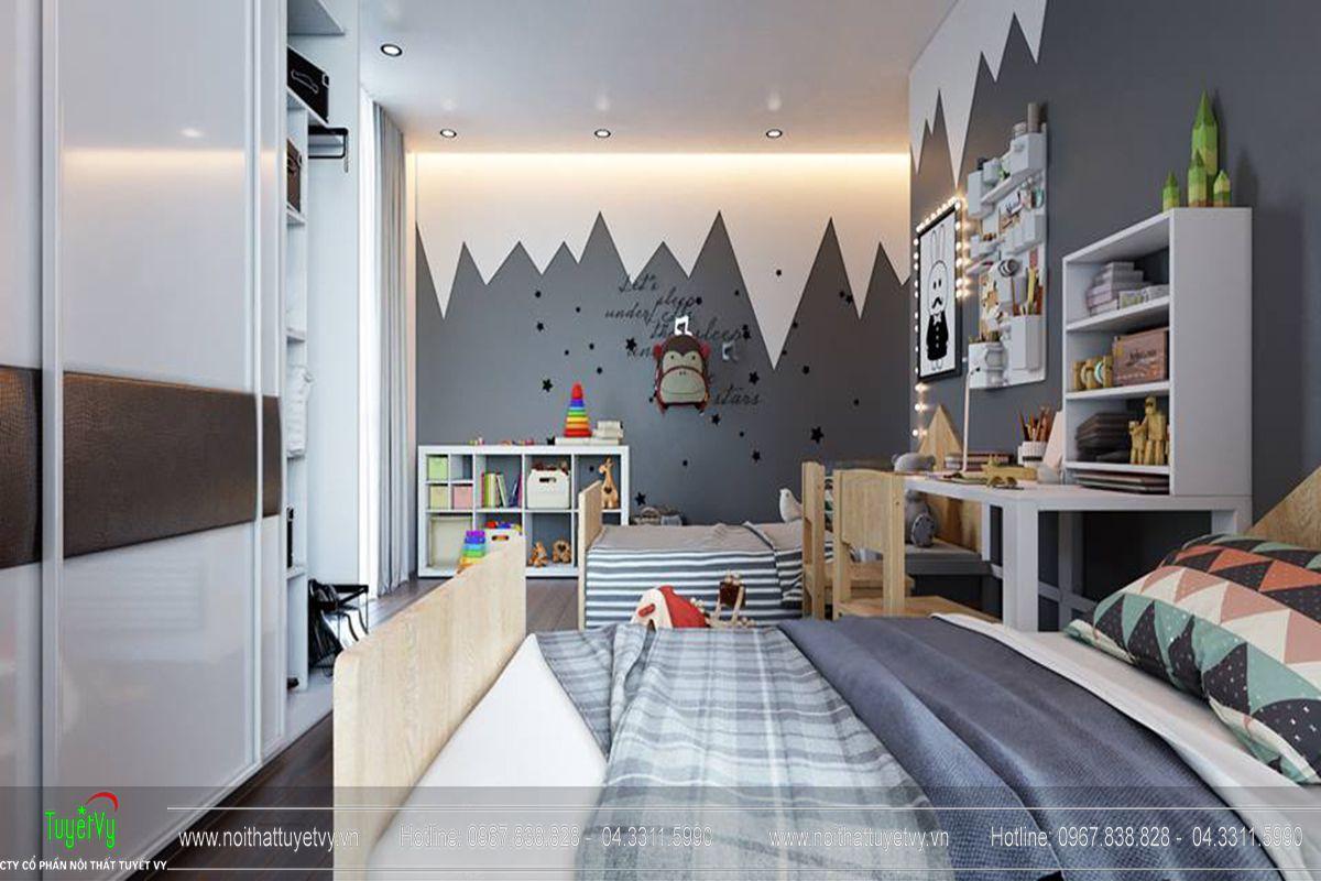Thiết kế nội thất chung cư Goldmark City Sapphire 1 - 13