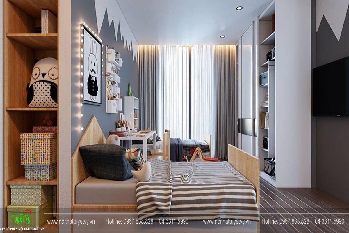 Thiết kế nội thất chung cư Goldmark City Sapphire 1 - 14