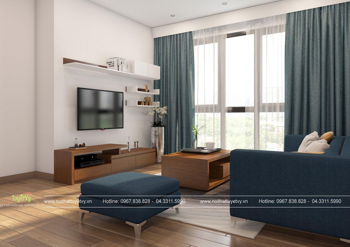 Thiết kế nội thất chung cư giá rẻ Mipec Long Biên 03