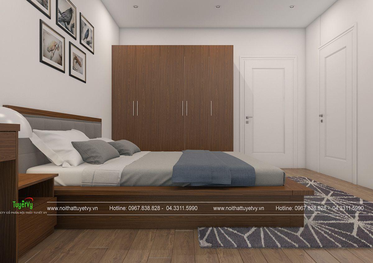 Thiết kế nội thất chung cư giá rẻ Mipec Long Biên 06