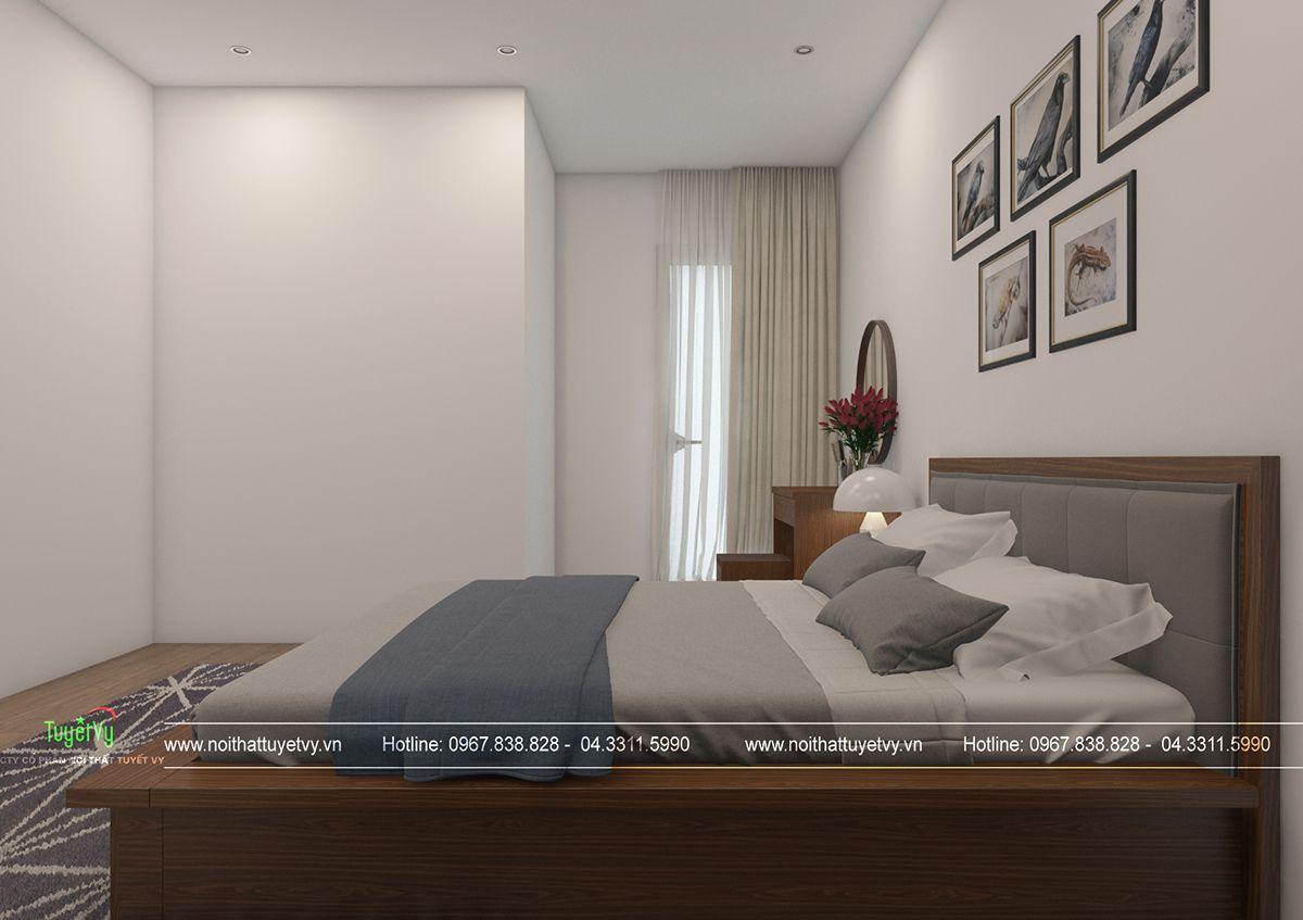 Thiết kế nội thất chung cư giá rẻ Mipec Long Biên 07