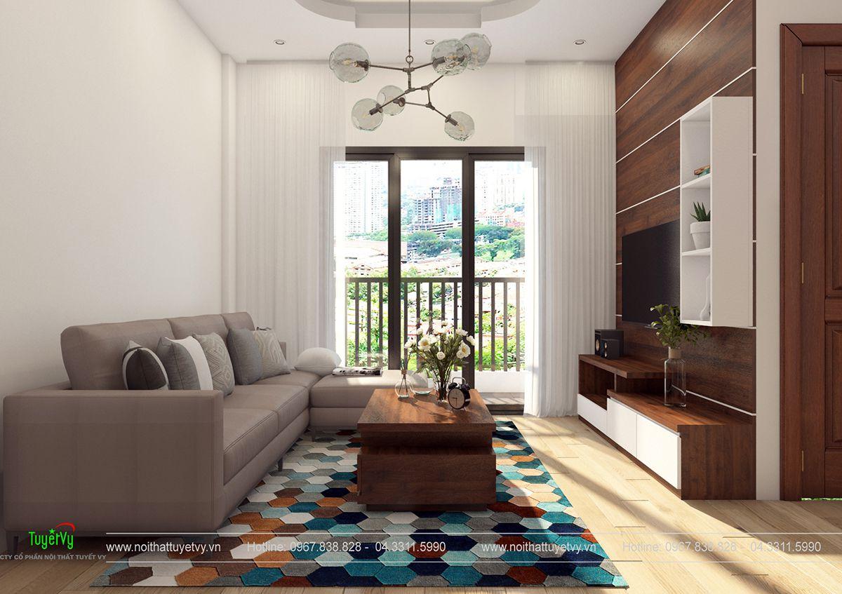Nội thất chung cư giá rẻ Thăng Long Victorya 04