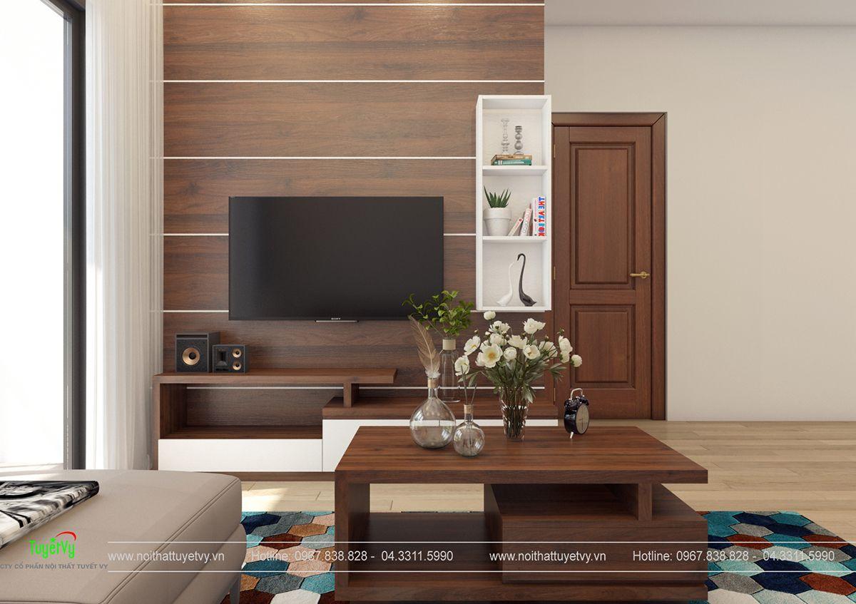 Nội thất chung cư giá rẻ Thăng Long Victorya 05