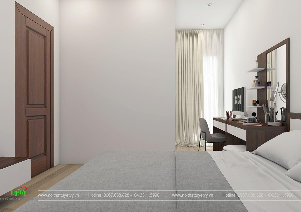 Nội thất chung cư giá rẻ Thăng Long Victorya 07