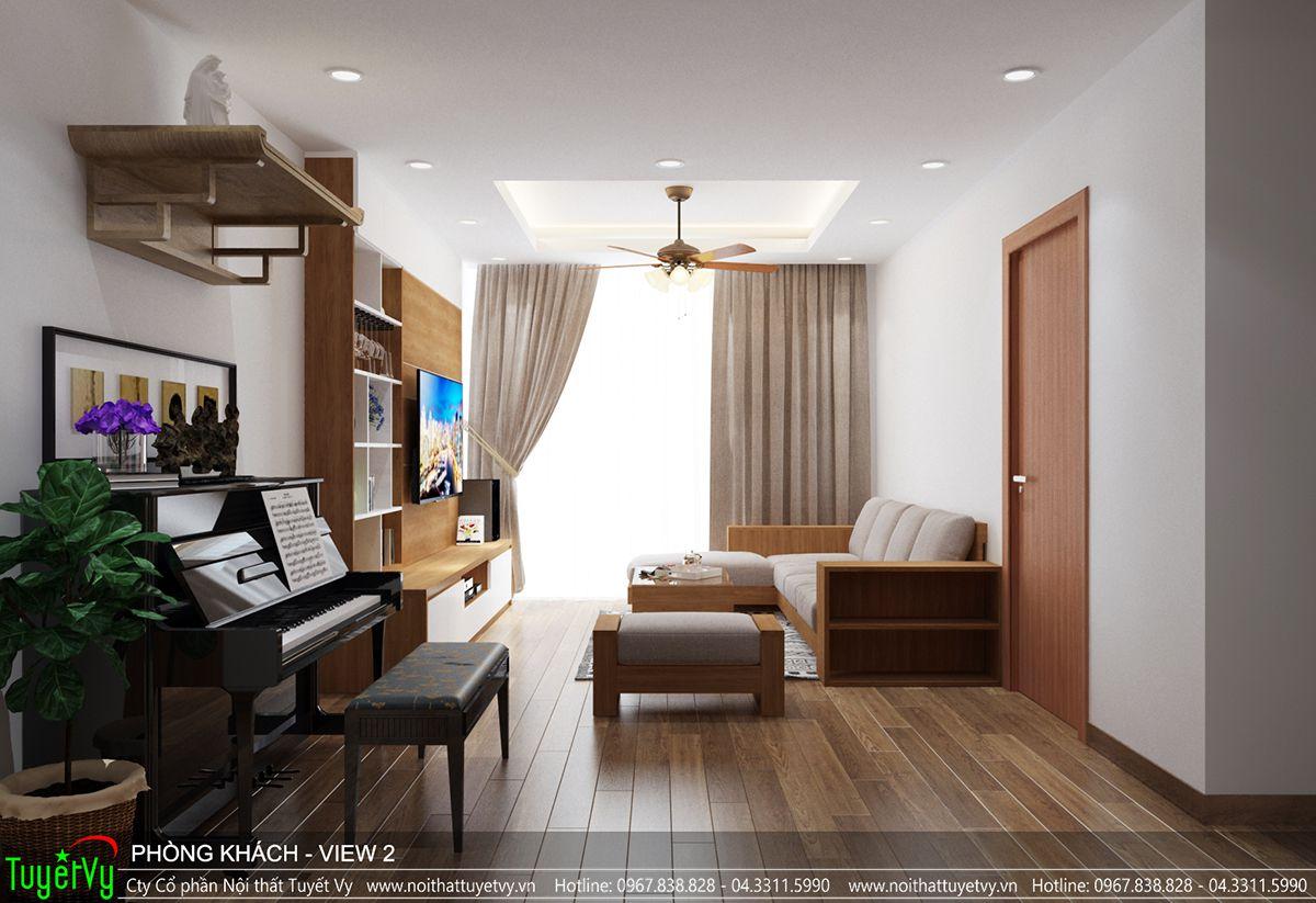 Thiết kế nội thất chung cư time city 01