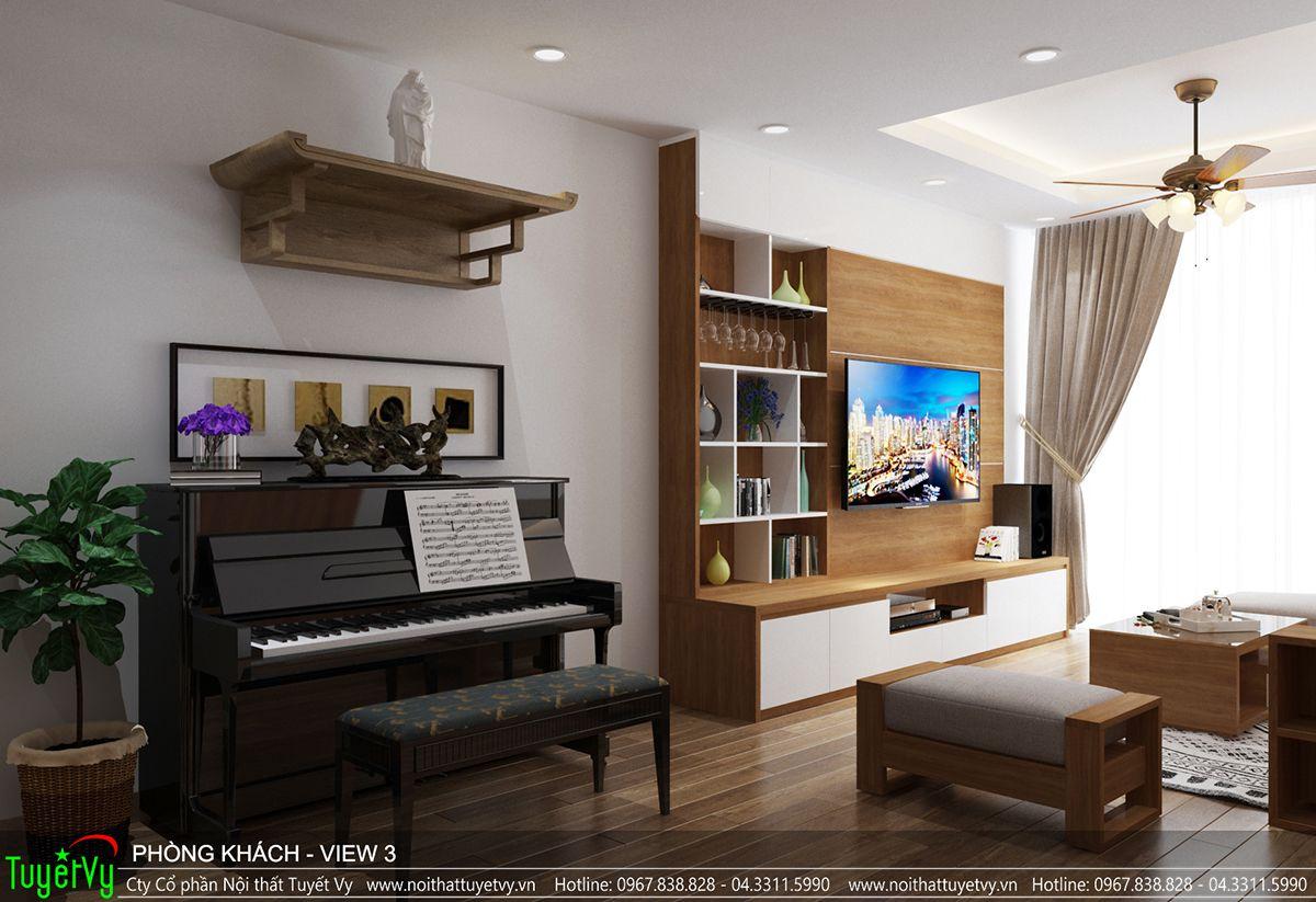 Thiết kế nội thất chung cư time city 02