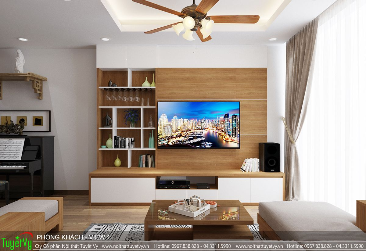 Thiết kế nội thất chung cư time city 03