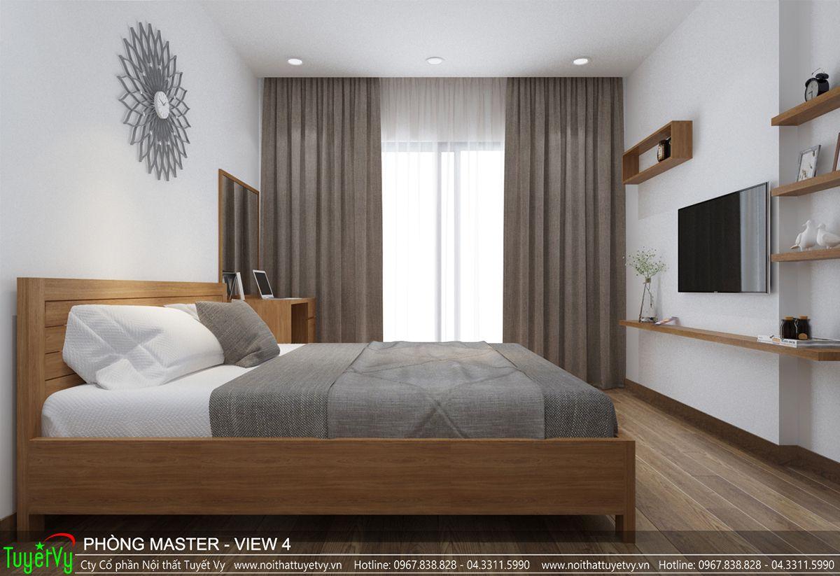 Thiết kế nội thất chung cư time city 04