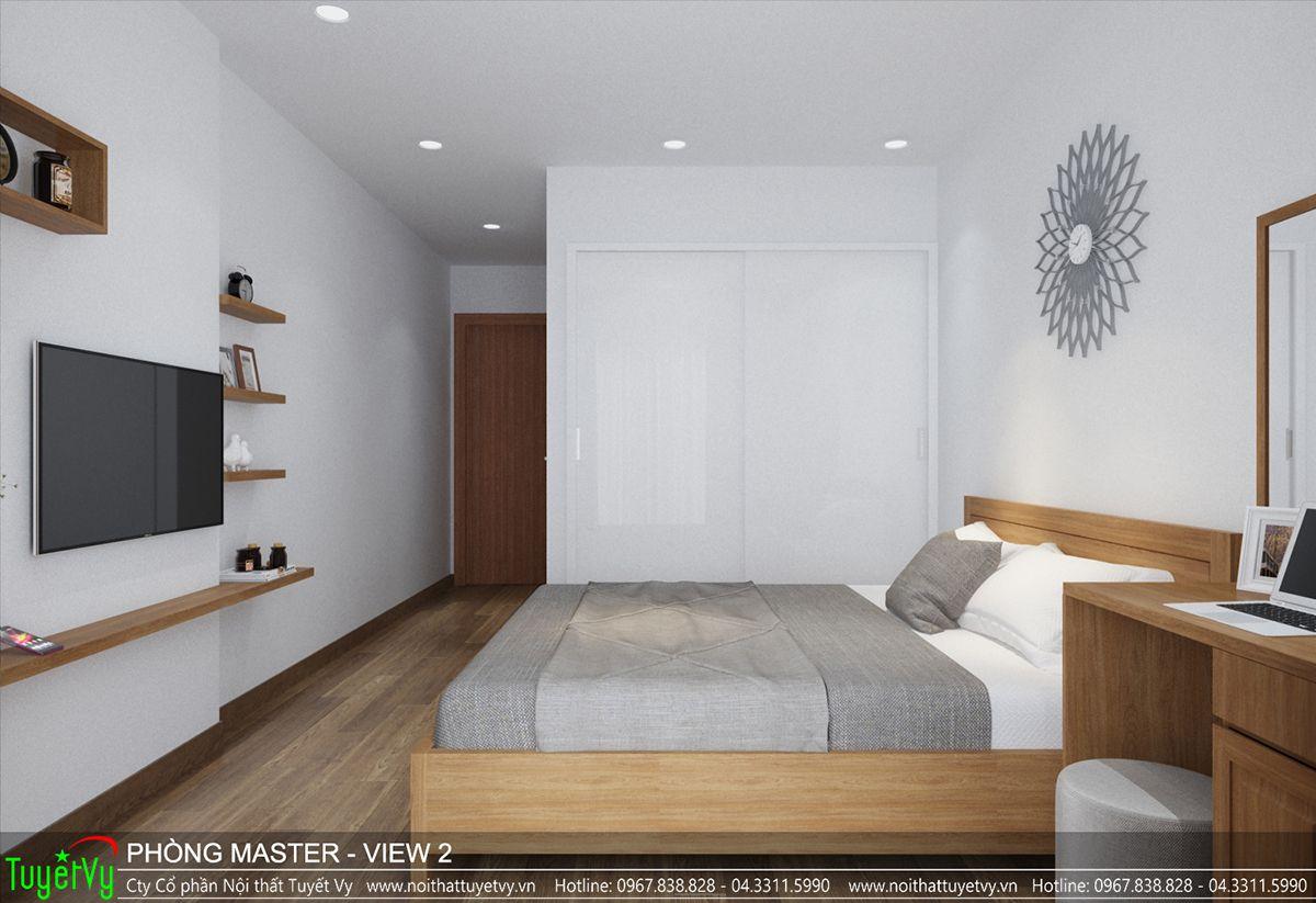 Thiết kế nội thất chung cư time city 06