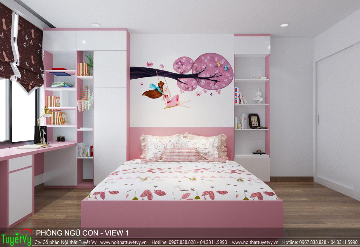 Thiết kế nội thất chung cư time city 07