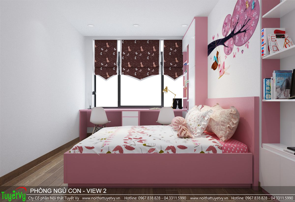 Thiết kế nội thất chung cư time city 08
