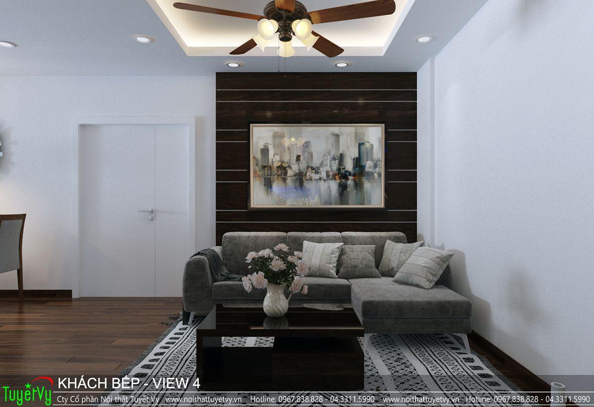Thiết kế nội thất chung cư CT3 Xala 04