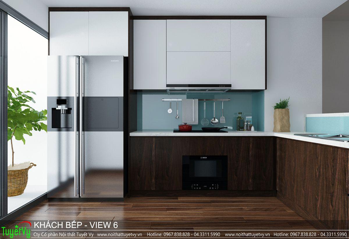 Thiết kế nội thất chung cư CT3 Xala 06