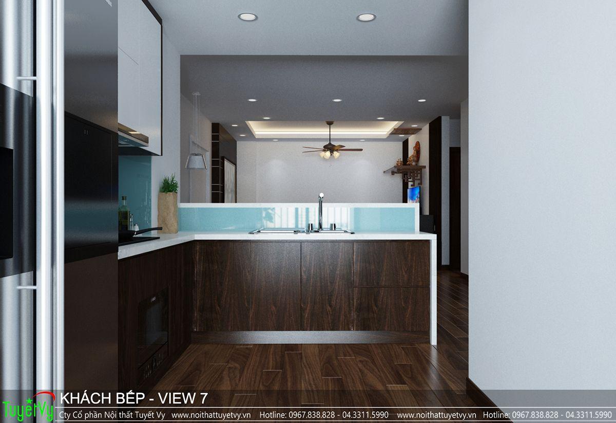 Thiết kế nội thất chung cư CT3 Xala 07