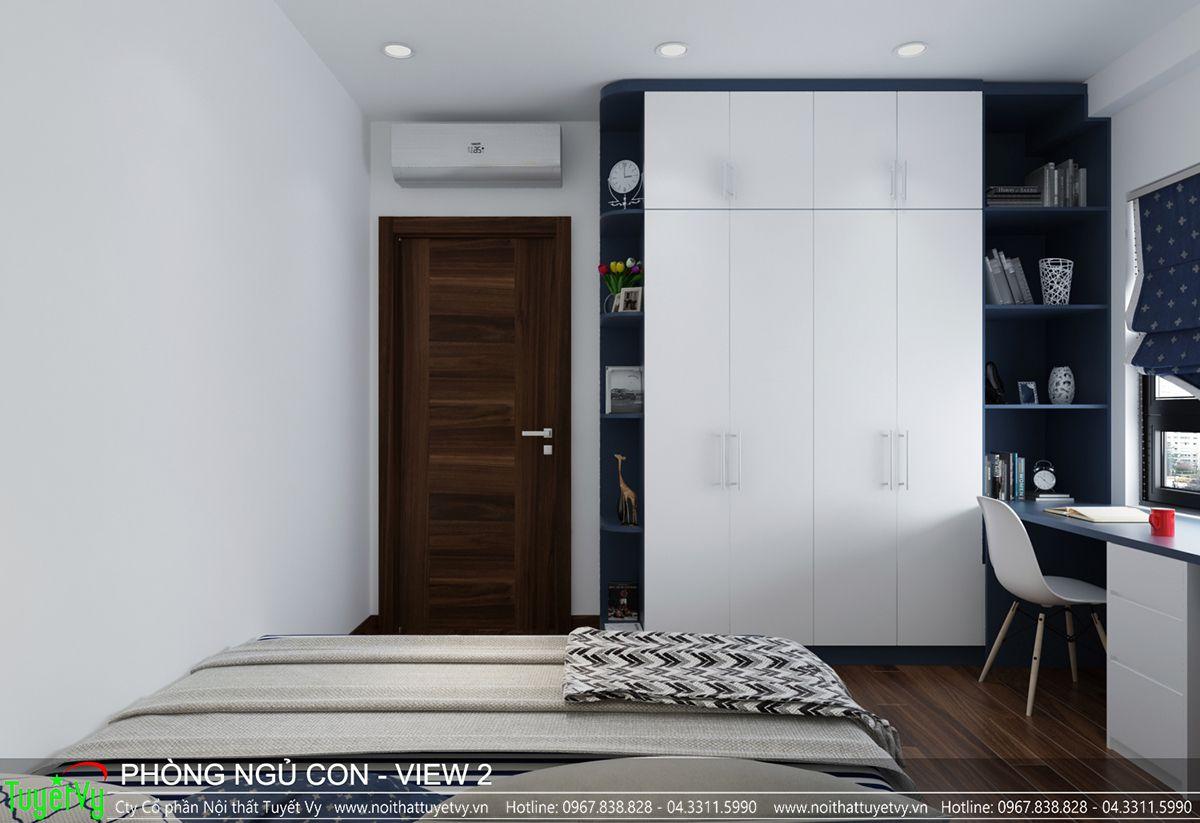 Thiết kế nội thất chung cư CT3 Xala 08