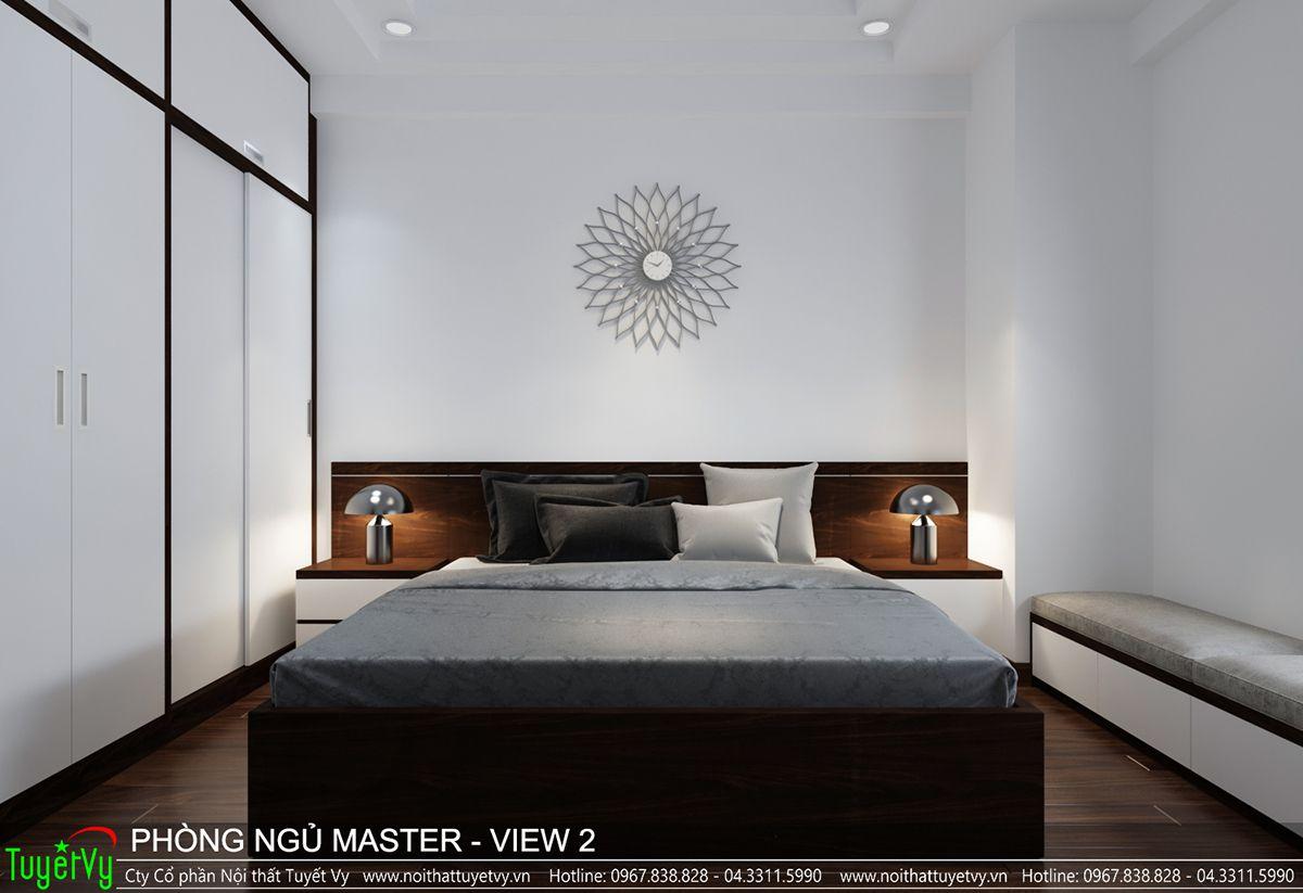 Thiết kế nội thất chung cư CT3 Xala 12