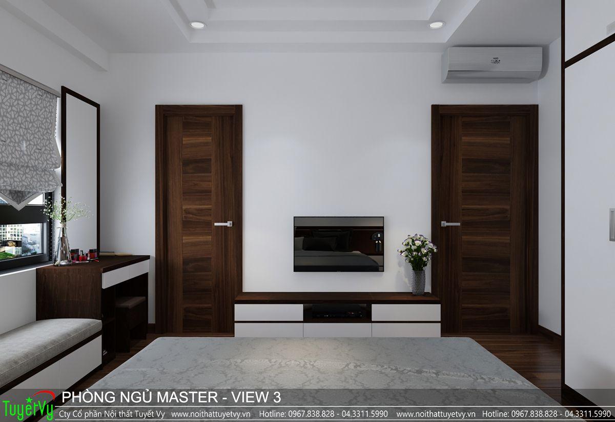 Thiết kế nội thất chung cư CT3 Xala 14