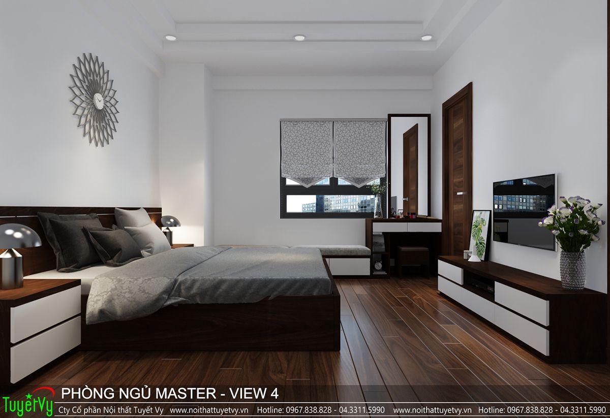 Thiết kế nội thất chung cư CT3 Xala 11