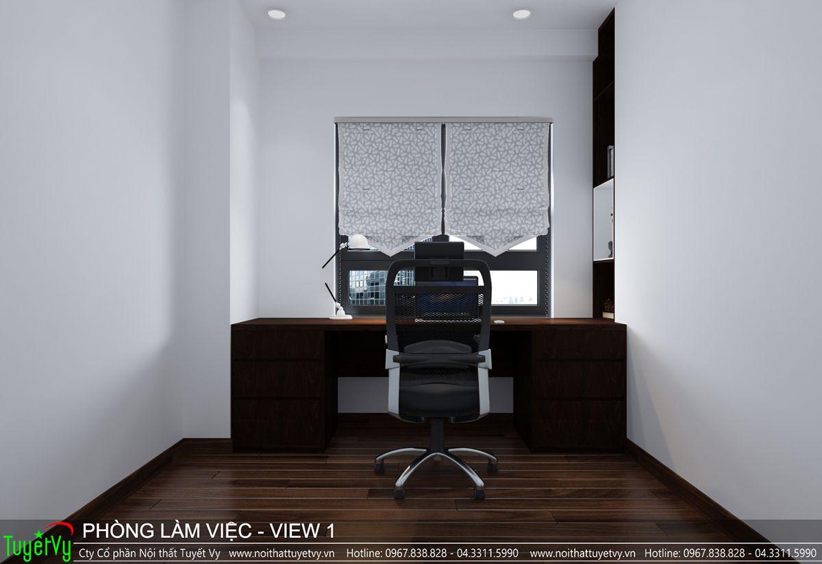 Thiết kế nội thất chung cư CT3 Xala 16