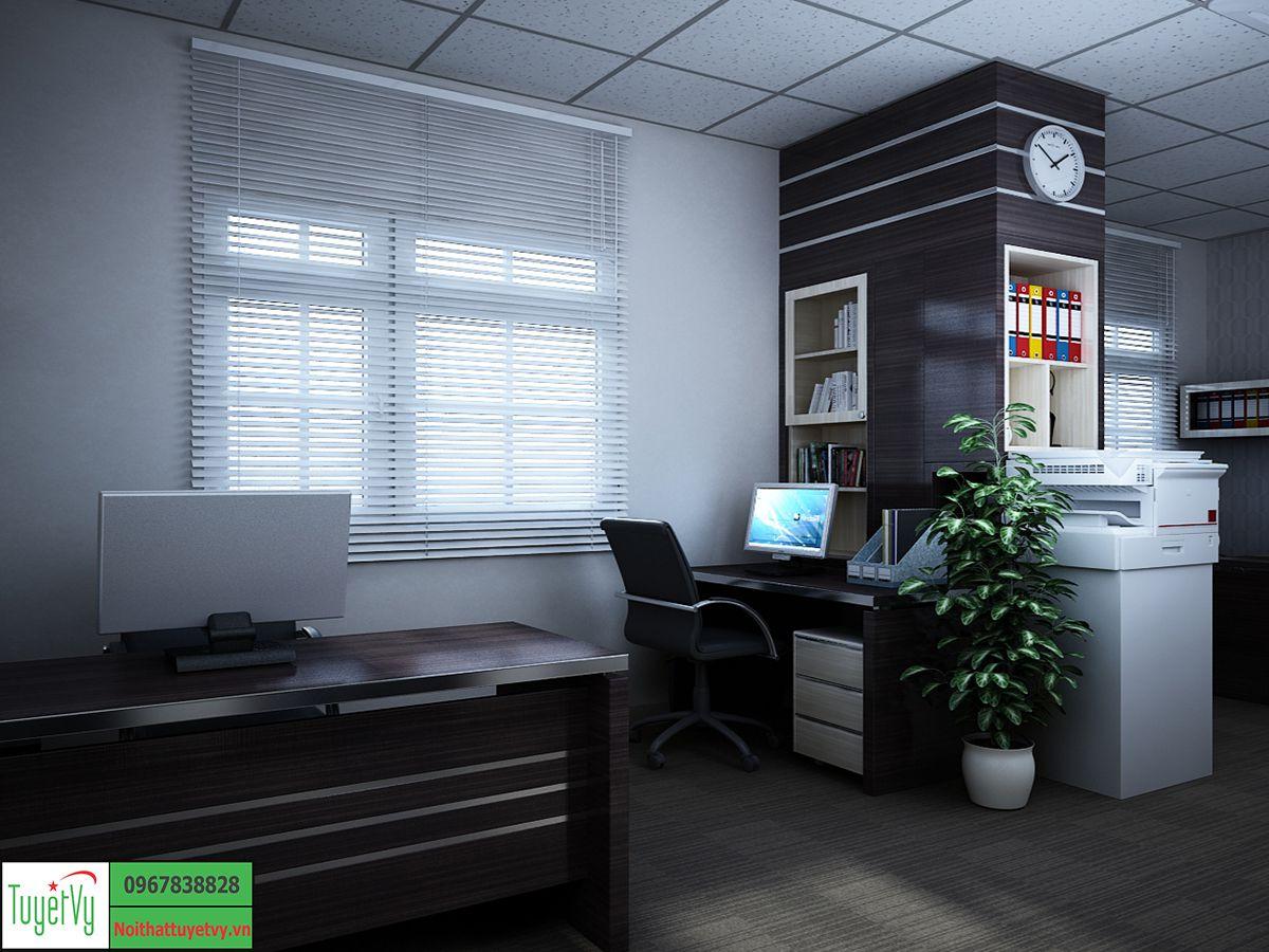 Phòng làm việc nhân viên đẹp, hiện đại
