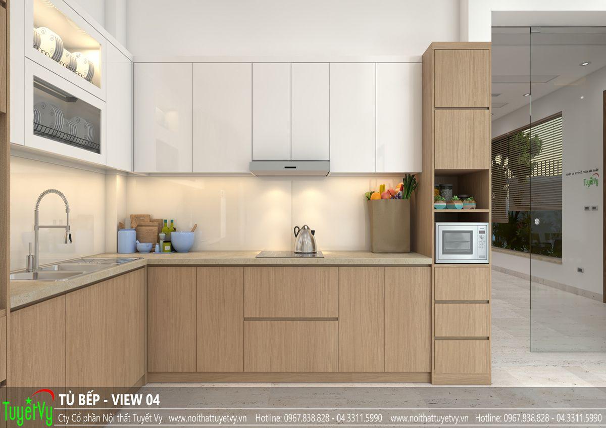 Tủ bếp hiện đại -TB29