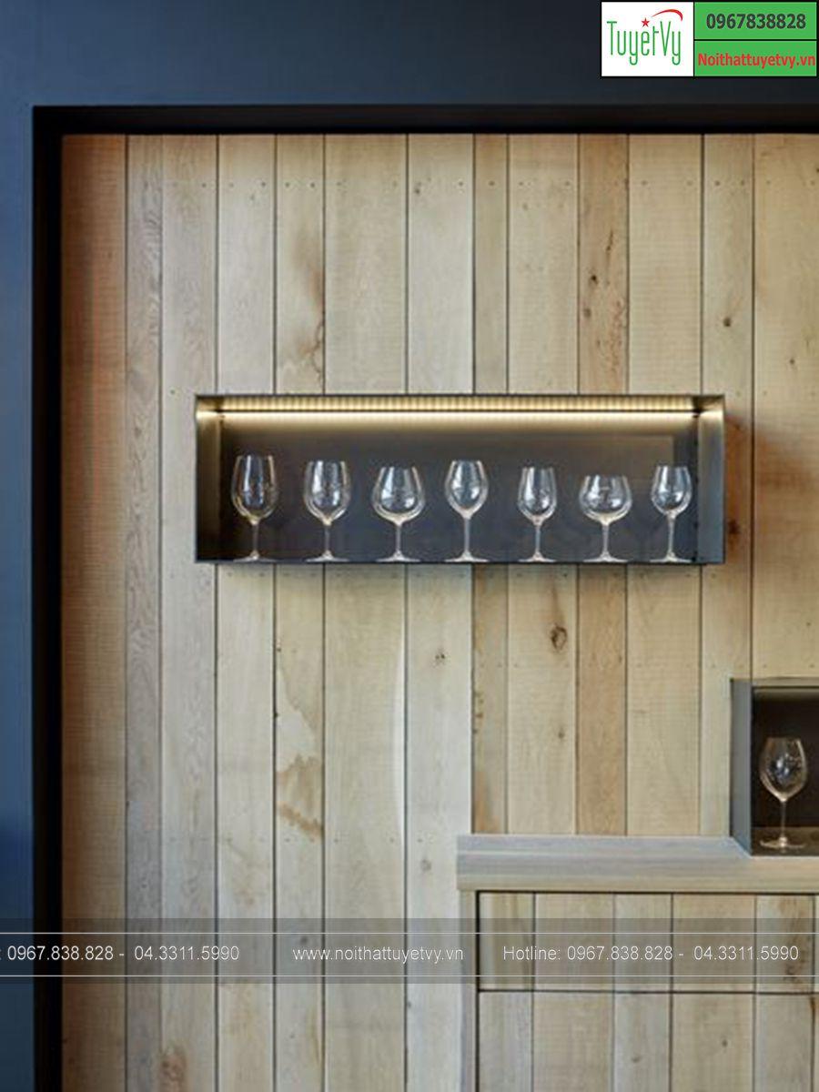 Tủ rượu gỗ Sồi
