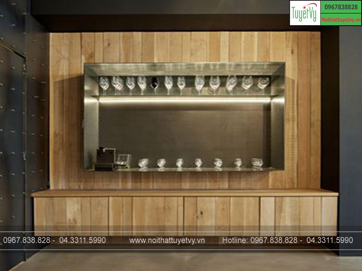 Tủ rượu treo tường TR13