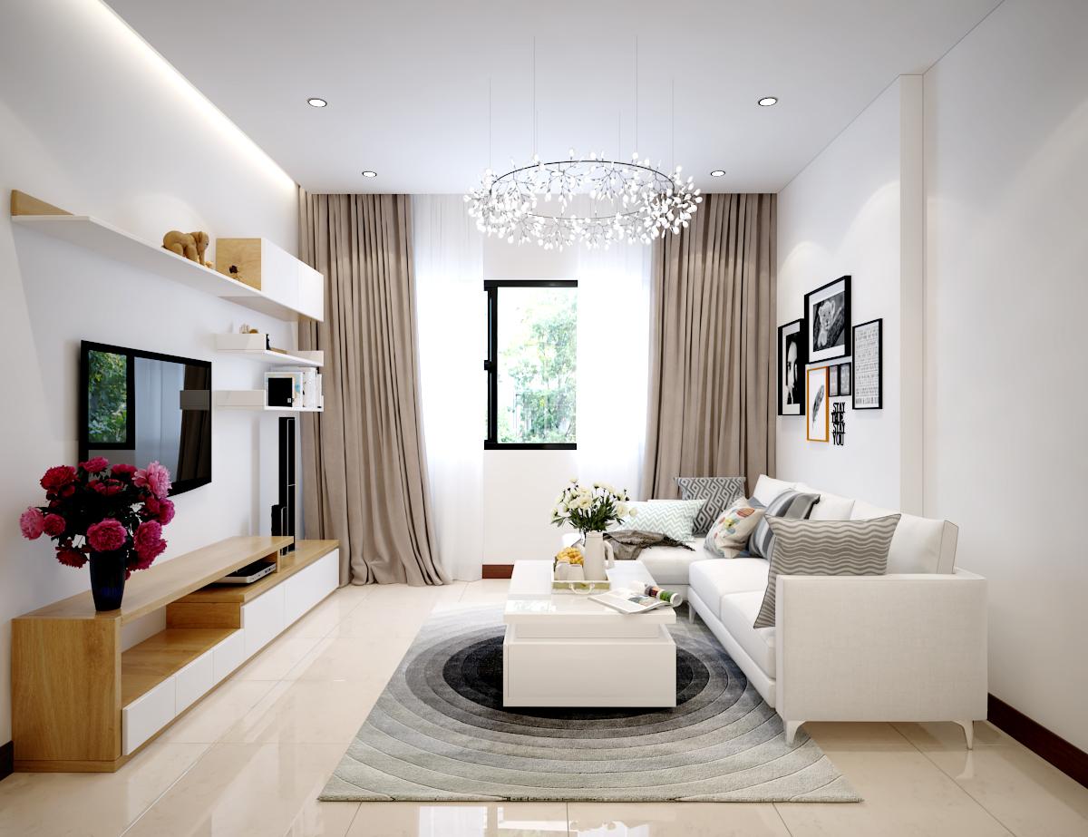 trang trí phòng khách