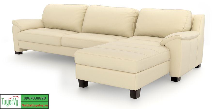 Mẫu Sofa da hiện đại
