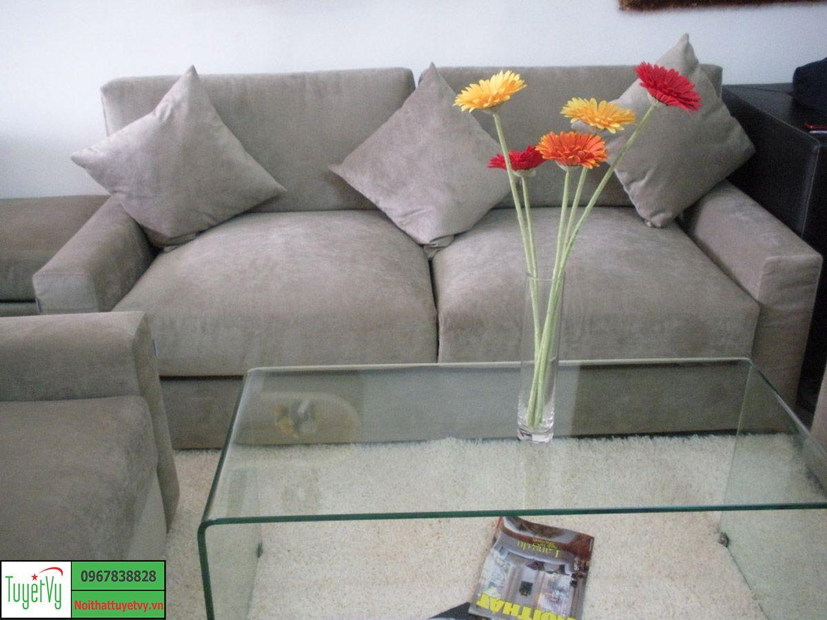 Sofa Nỉ đơn giản SFN04