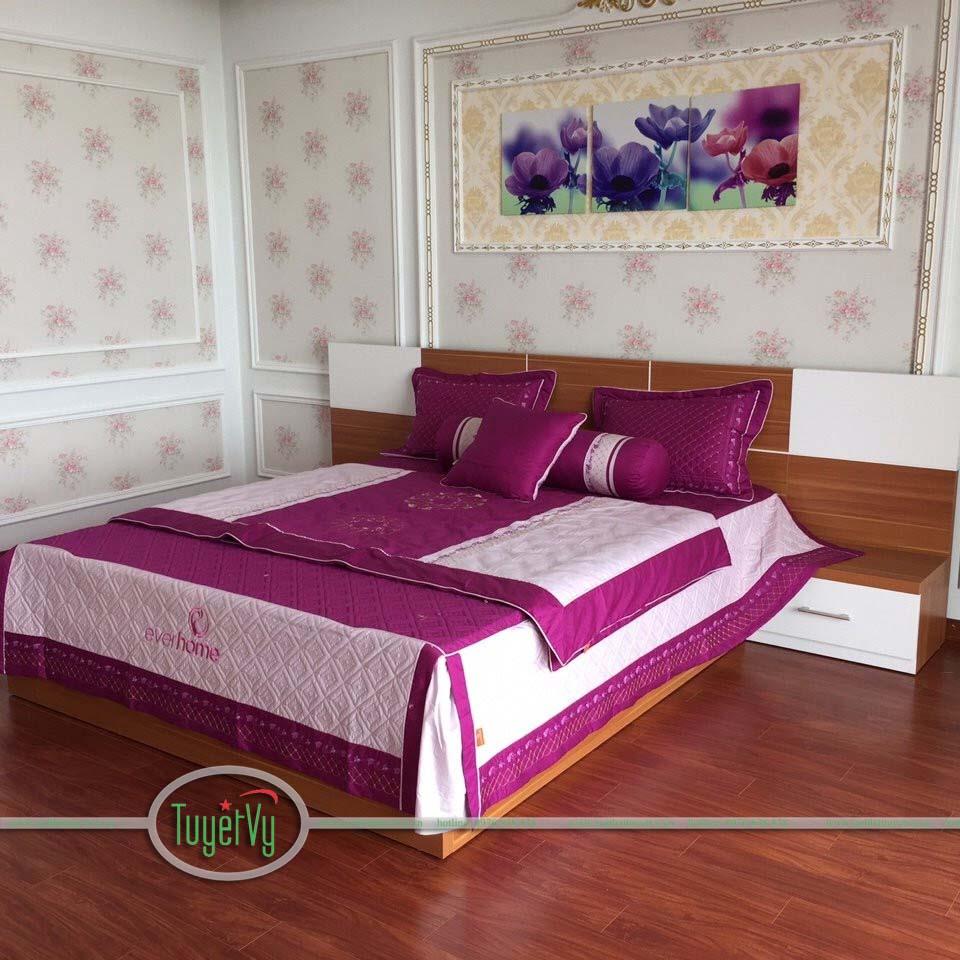 Giường ngủ gỗ công nghiệp 2