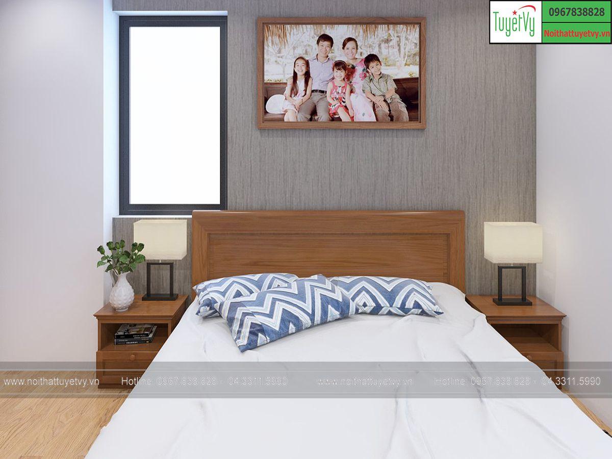 Giường ngủ kiểu nhật GN14