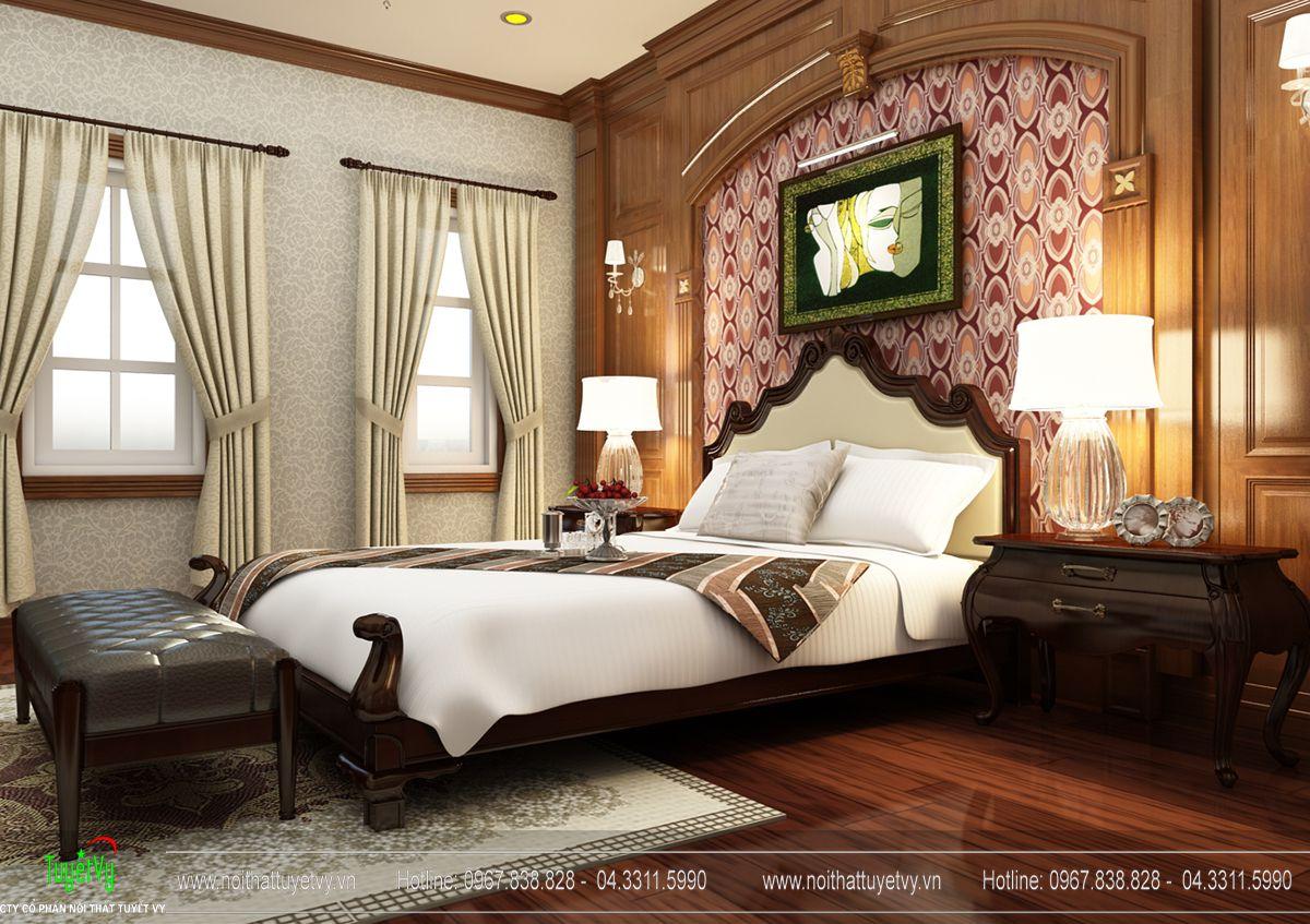 Giường tân cổ điển 01