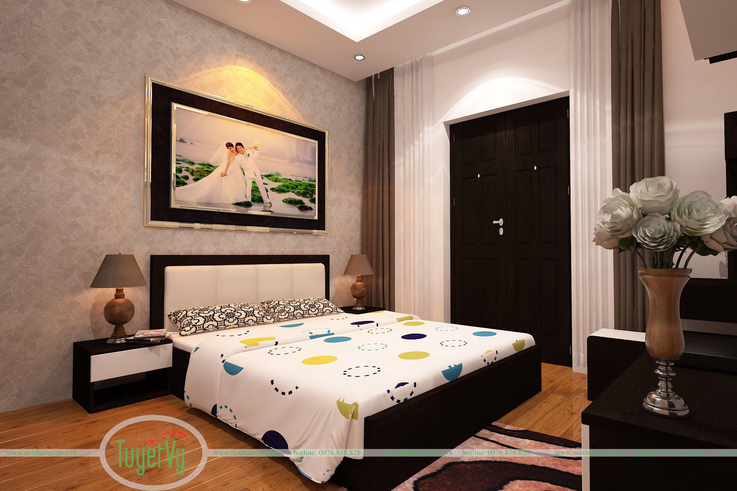 phòng ngủ bố mẹ hiện đại 2