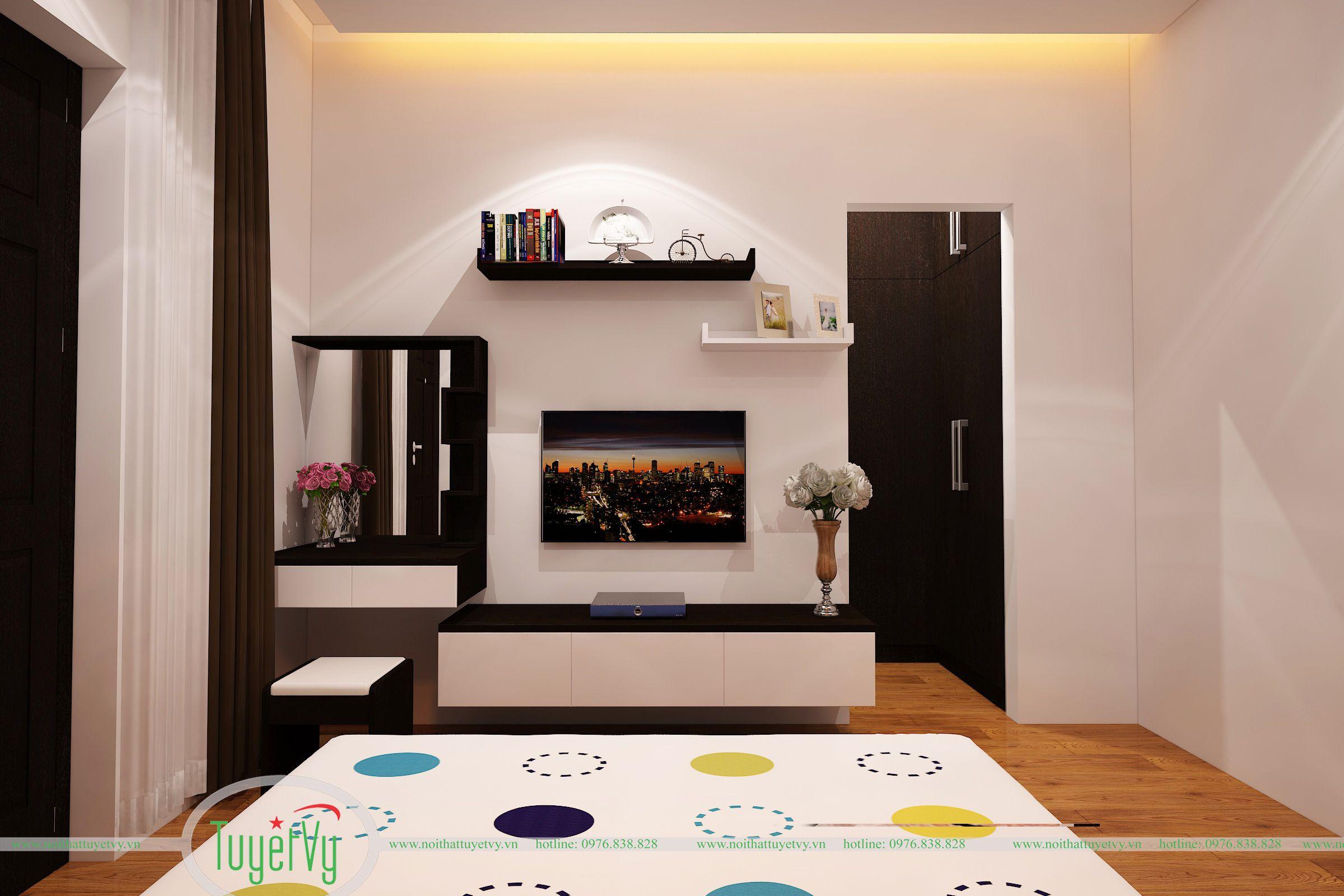 phòng ngủ bố mẹ hiện đại 1
