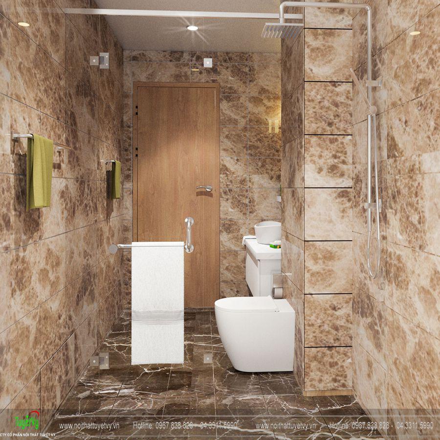 Thiết kế nội thất nhà tắm đẹp