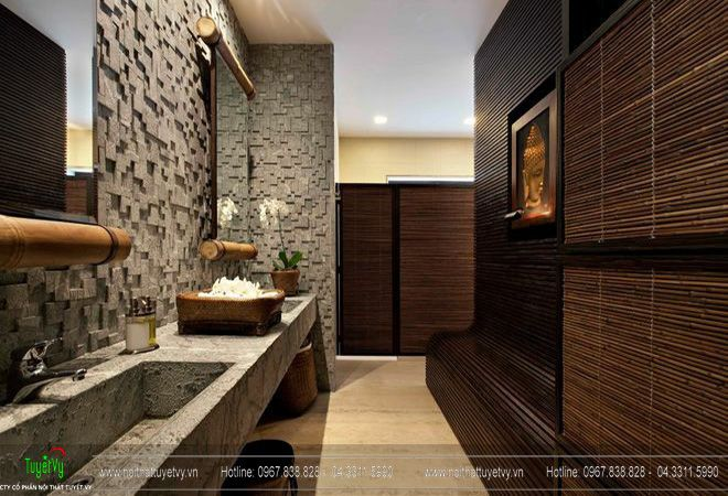 Những đặc điểm trong không gian phòng tắm của người Châu Á