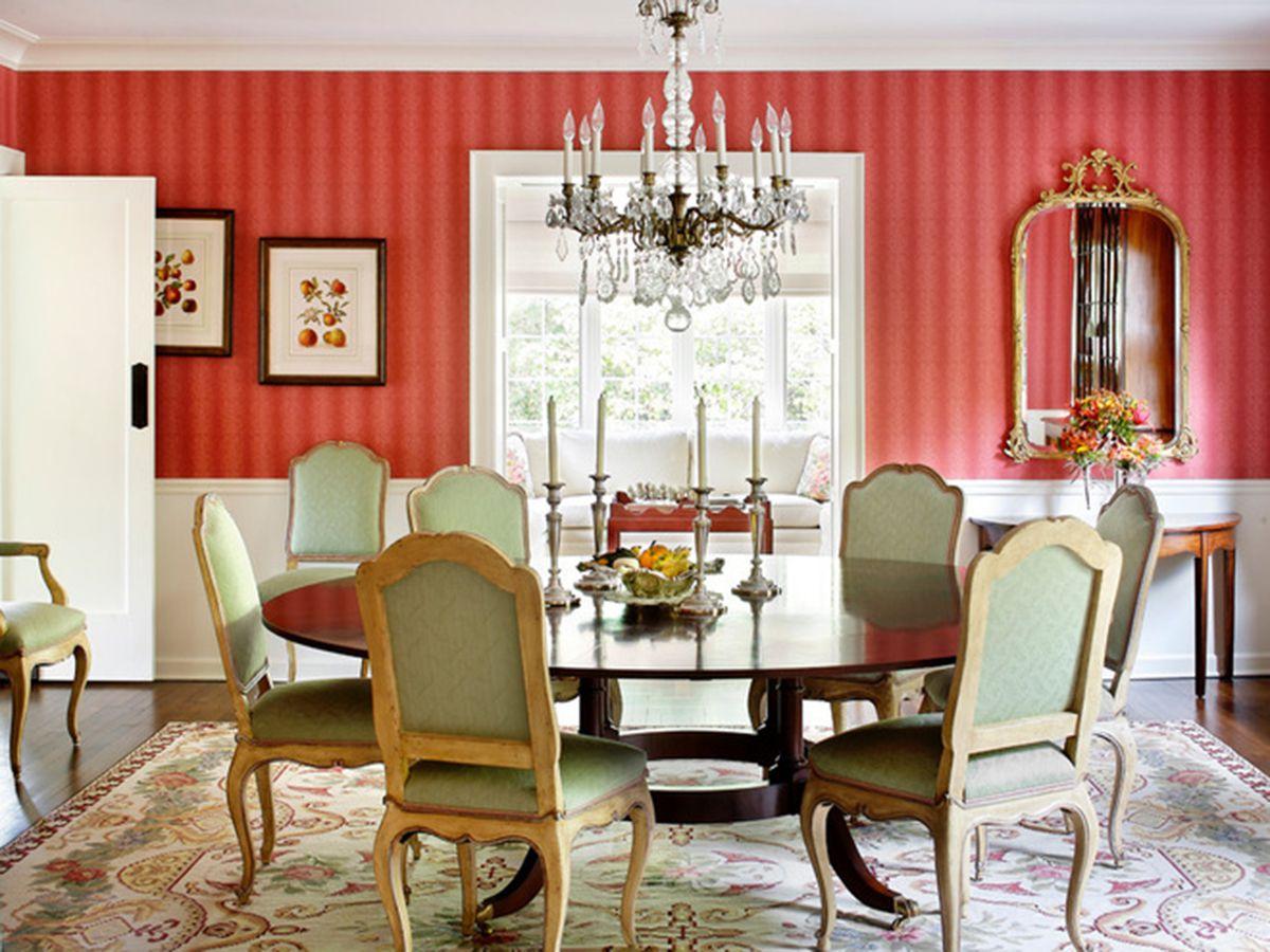 bộ bàn ăn tròng 6 ghế