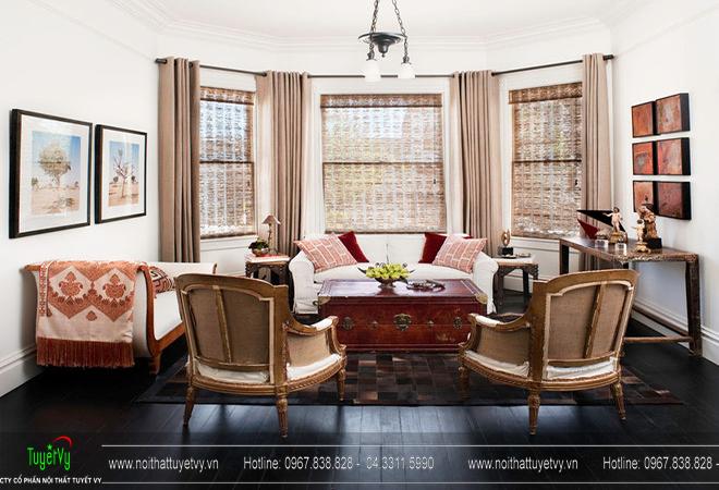 Những gọi ý trang trí và thiết kế phòng khách nhỏ 02
