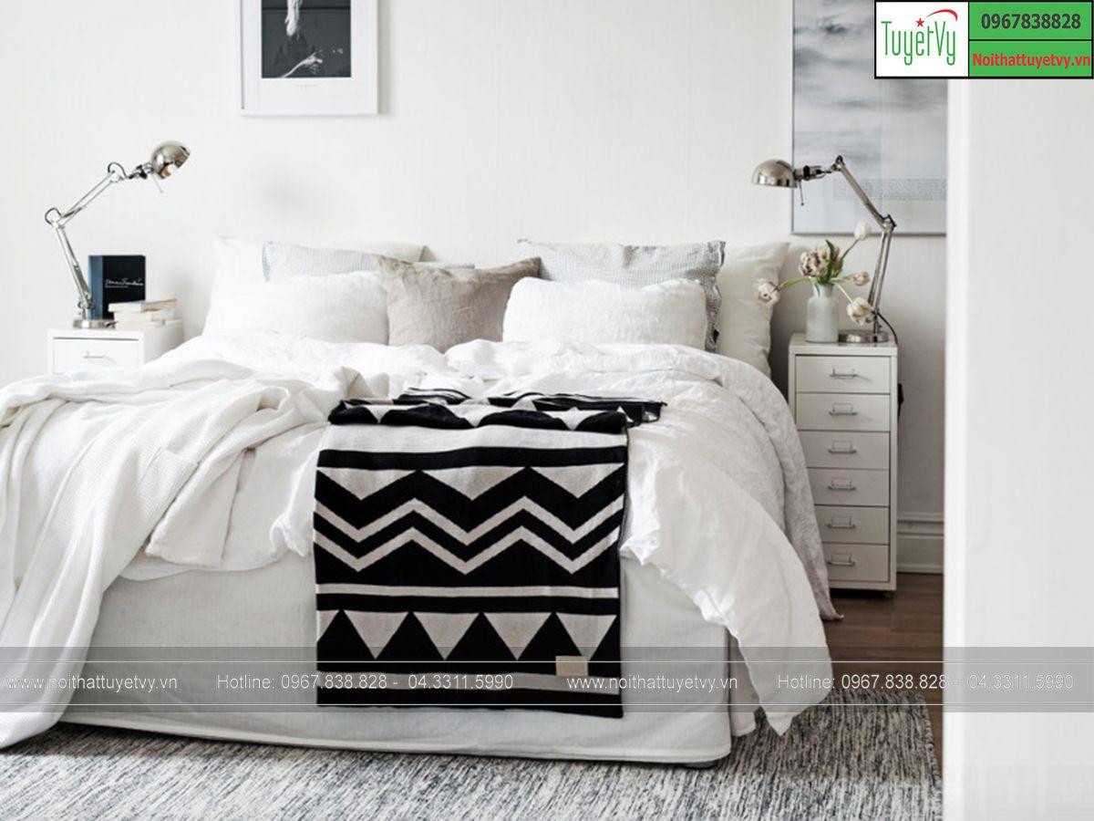 điểm nhấn cho phòng ngủ