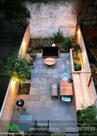 Thiết kế sân vườn theo kiến trúc phương Tây 07