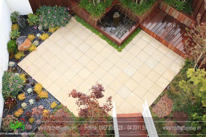 Thiết kế sân vườn theo kiến trúc phương Tây 09