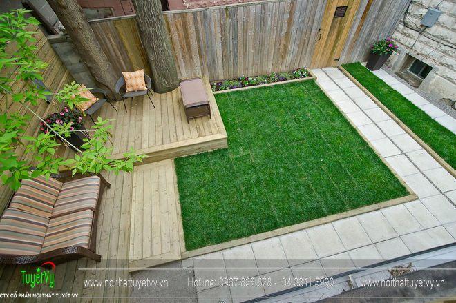 Thiết kế sân vườn theo kiến trúc phương Tây 10