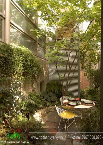 Thiết kế sân vườn theo kiến trúc phương Tây 11