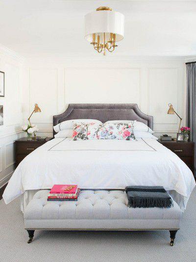 Xu hướng nội thất-đệm giường ngủ màu trắng 10