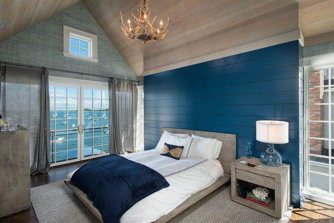 Xu hướng nội thất-đệm giường ngủ màu trắng 2