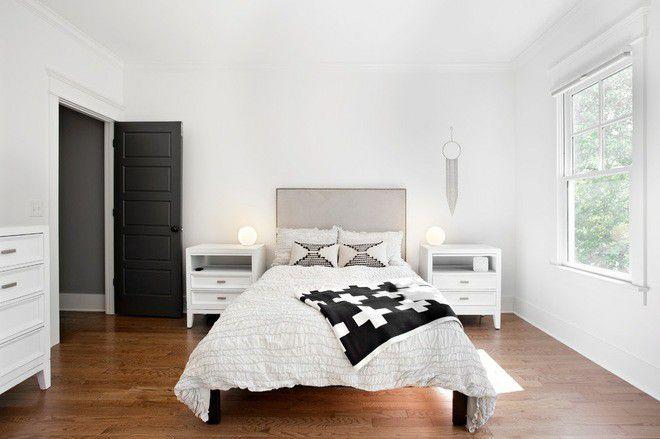 Xu hướng nội thất-đệm giường ngủ màu trắng 3