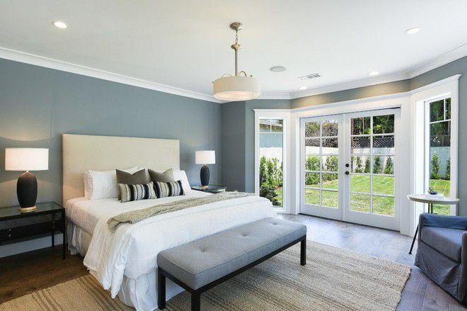 Xu hướng nội thất-đệm giường ngủ màu trắng 4